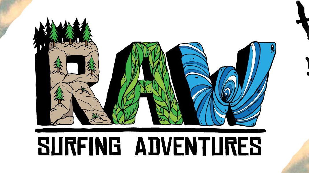 Raw Surfing Adventures Banner